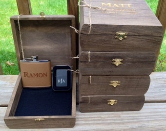 Best Man Gift, Groom Gift, Gift For Him, Wedding Gift, Cool Groomsmen Gift, Mens Gift, Father Of The Bride, Keepsake Box, Groomsmen Gift,