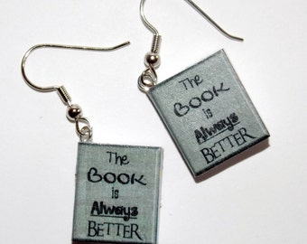 The Book is Always Better Earrings