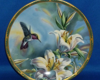 Ruby Throated Hummingbird by Cyndi Nelson Gems of Nature: The Beautiful Hummingbirds
