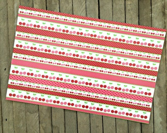 Cherry Placemats, Summer Party Goods, Picnic Supplies
