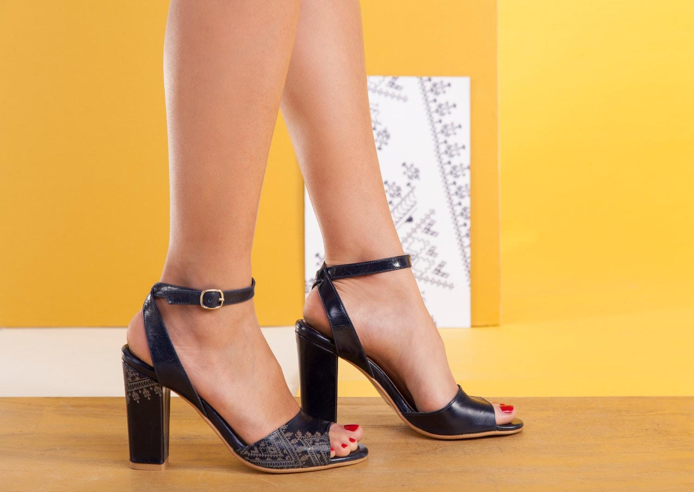 Womens navy blue dress sandals - Dress on sale
