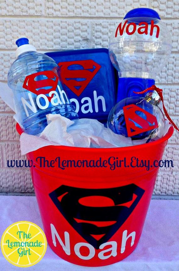 Superhero Gift Basket Ideas Basket Superhero Gift