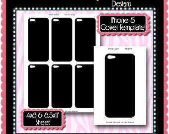 iphone 5 sticker template - mini hand sanitizer label template instant download psd png