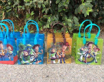12 Toy Story-Birthday Party Favor Bags