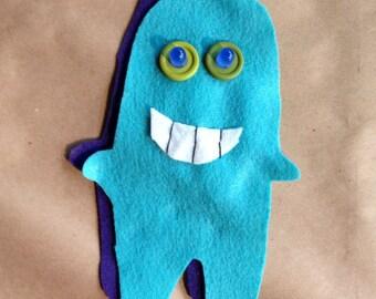 Blues Felt Glowie Monster Light-Up Plush Electronics & Sewing Kit