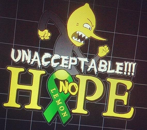 Adventure Time Lemongrab Lemon Hope Unacceptable Amp Acceptable