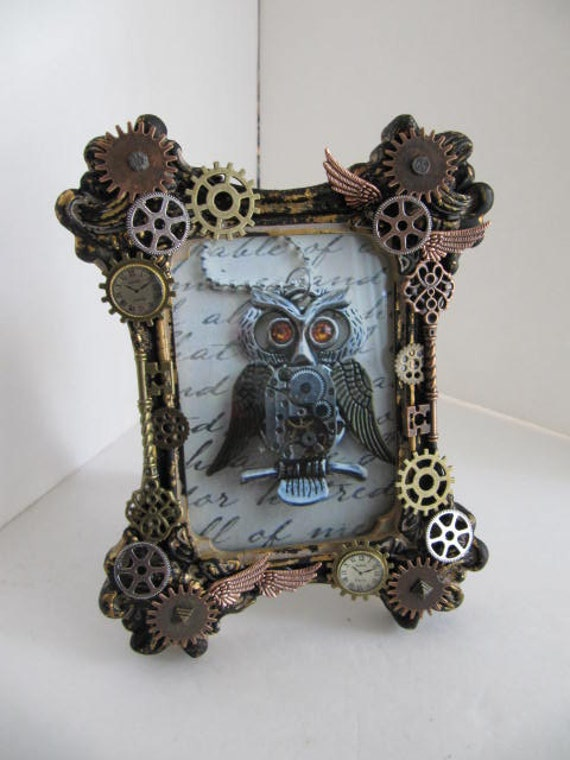Reserved Frame Steampunk Picture Frame Frame Photography