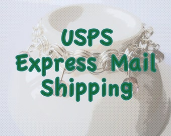 Express Mail Shipping, USA Deliveries 1-2 day