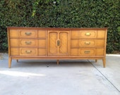 Bassett Mid Century Modern/Regency Dresser - Avail for Custom Painting