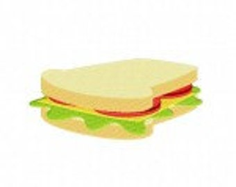 Picnic Sandwich Machine Embroidery Design
