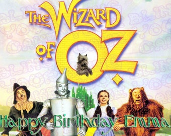 The Wizard of Oz Edible Icing Sheet Cake Decor Topper