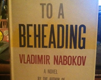 1959 1st US Edition - Vladimir Nabokov - Invitation to a Beheading - Original Dust Jacket