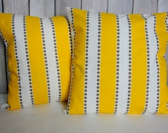 SALE Pillow Covers. Striped Pillow Covers. Yellow Pillow Covers. Brown Pillow Covers. Cushion Covers