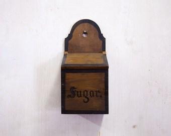 Vintage Hanging Sugar Box