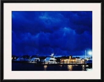 Fire Island Stormy Night