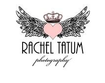 "Custom Premade Photography Logo and Watermark ""Crowned Wings"" - Fully Customizable Font and Color"