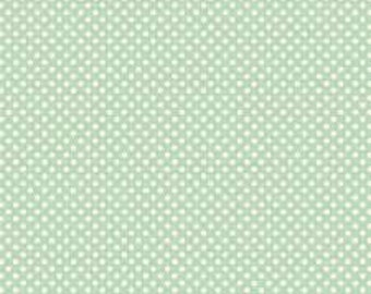 TILDA - Dottie - Surf Green - 1/2 yd x 54""