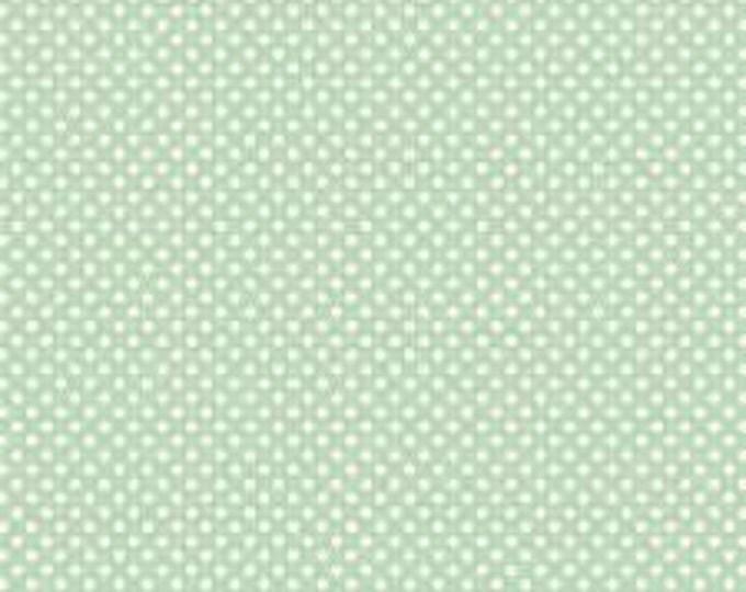 """TILDA - Dottie - Surf Green - 1/2 yd x 54"""""""