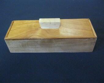 Custom wood Pen Box