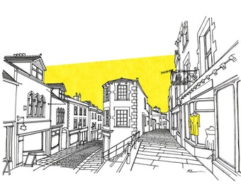 Catherine Hill, Frome Limited Edition Print