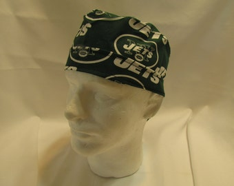New York Jets NFL Football Tie Back Surgical Scrub Hat