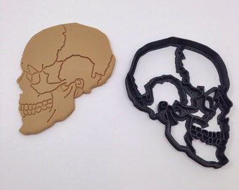 Anatomical Skull Cookie Cutter 3D Printed