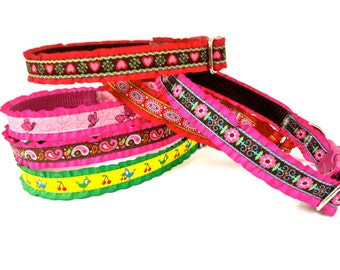 Add a ruffle to your 5/8'' ,3/4'' , 1''  dog collar