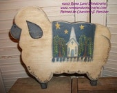 PATTERN for my Sheep Hear My Voice Sheep with Scripture
