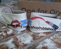 Rubiishoos original Lips and lip stick make up toms