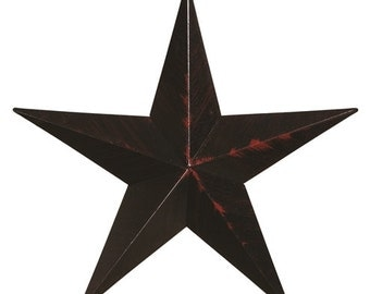 "Amish Made 16"" Heavy Gauge Metal Barn Star"