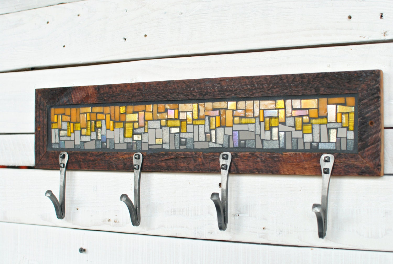 entryway coat hooks wall coat rack mosaic coat rack. Black Bedroom Furniture Sets. Home Design Ideas