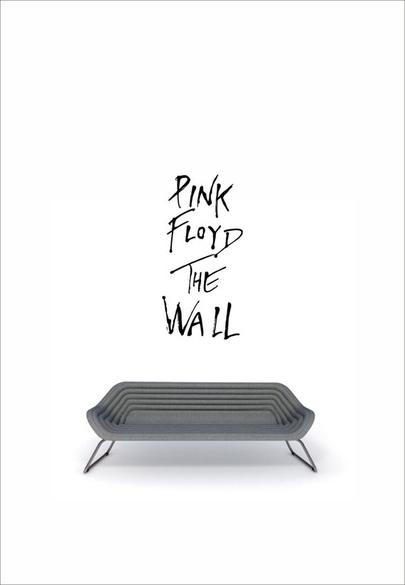 Famous Music Bands Art Inspired By Pink Floyd The Wall Vinyl