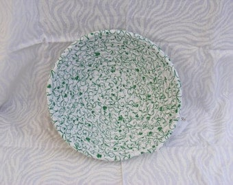 St. Patrick's Day Medium Coiled Fabric Basket/ Bowl