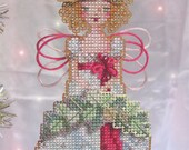 Brooke's Books Stitch-a-Little Spirit of Christmas Past Ornament Cross Stitch Chart Only