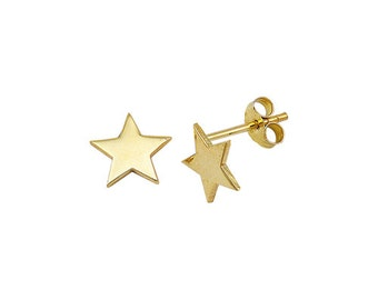 Star 14k Solid Gold Earring Best Price