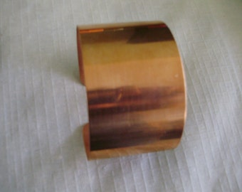 """2"""" Wide Copper Cuff Bracelets. They are worn well by either men or women -Free Shipping-"""