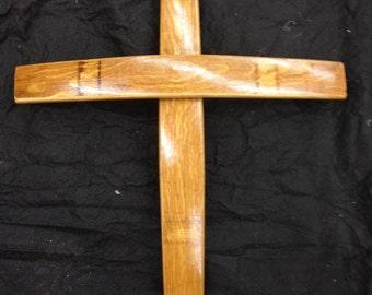 Wine Barrel Easter Cross