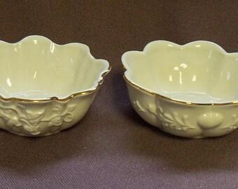 2 Lenox Fruit or Dessert Bowls