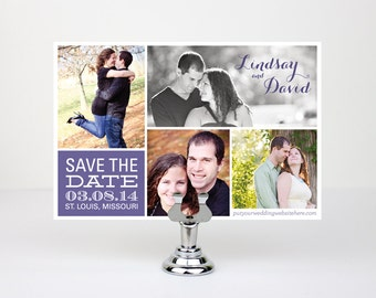 Custom Printable Save the Dates
