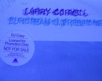 Larry Coryell - European Impressions - vinyl record