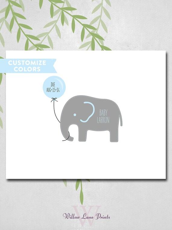 Baby Boy Gifts Elephant : Baby boy shower gift ideas elephant
