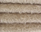 SAVE MONEY - 24.50 - Etsy Special - Quality 325S/CM - Mohair - 1/4 yard (Fat) in Intercal's Color 569S-Silver Grey. A German Mohair Fabric