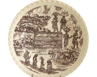Vernon Kilns Plate - Albuquerque, New Mexico