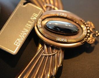 Excellent Vintage Bulatti Art Deco Necklace