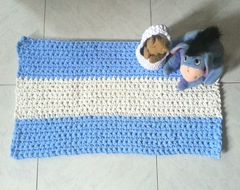 Rectangular rug crochet strap (art. 51)