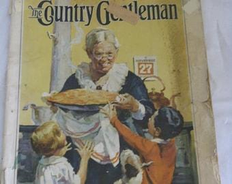 Vintage 1930 The Country Gentleman original full magazine