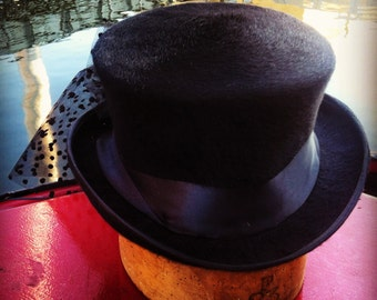 Handmade Top Hat - choice of material, colour and detail