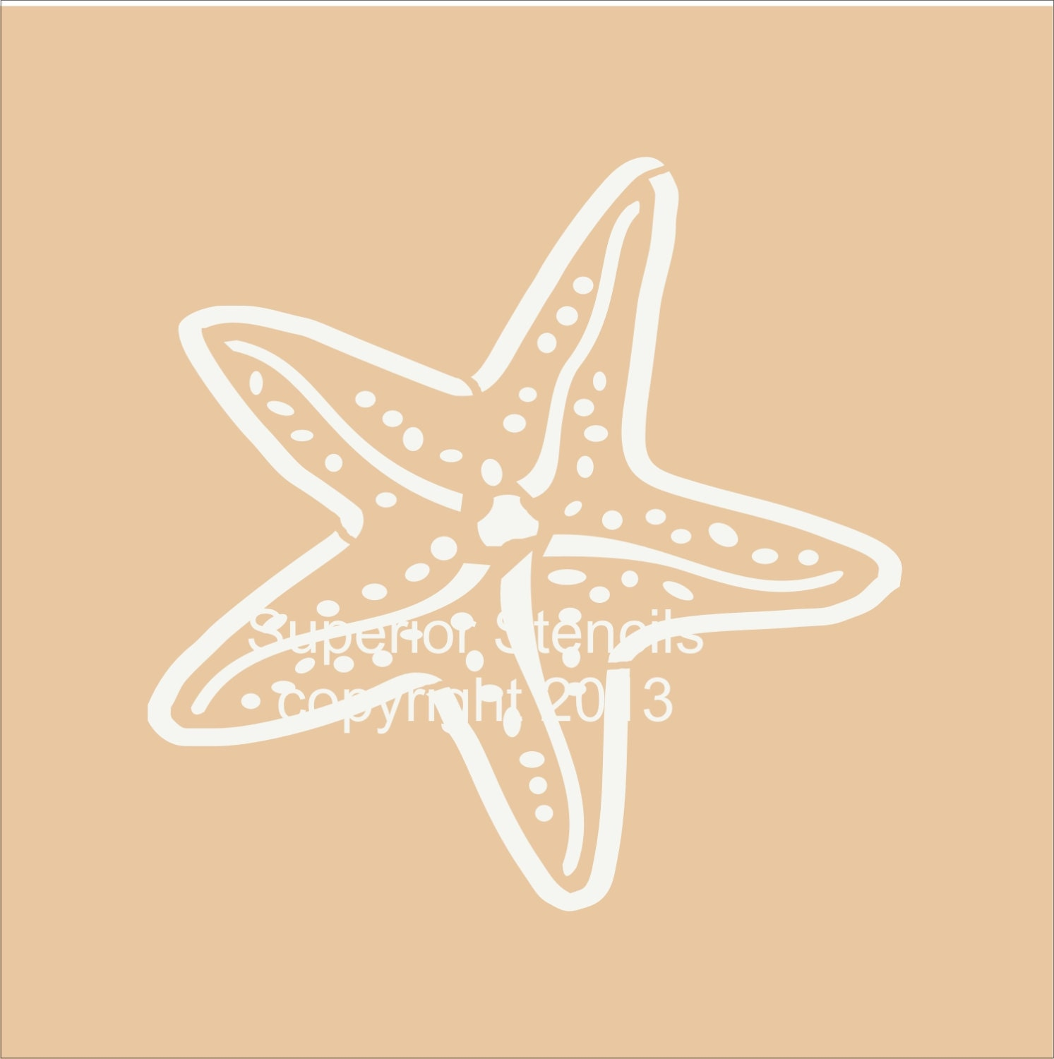 Printable Starfish Stencils Cake Ideas And Designs