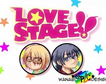 Love Stage 1.75  Chibi Buttons Izumi Ryoma