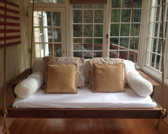 Day bed porch swing